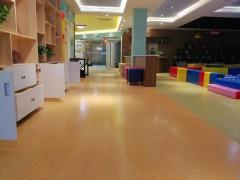 培训教室地板 卡通发泡底PVC多层复合地板