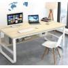 沈阳鑫斯玛特办公家具单人办公桌主管桌现代简约钢架办公桌子
